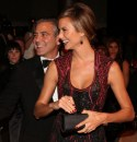 George Clooney e Stacy Keibler amore