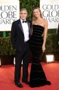 George Clooney e Stacy Keibler sul red carpet