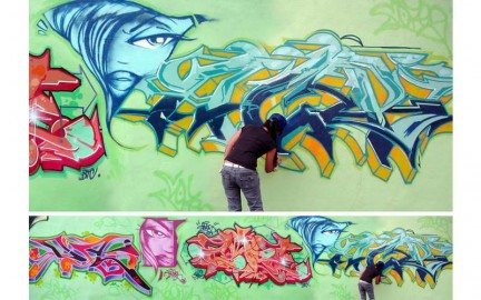 graffiti writers donne
