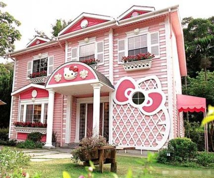 La casa di Hello Kitty in Cina