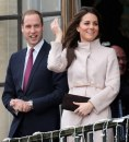 Kate Middleton con William