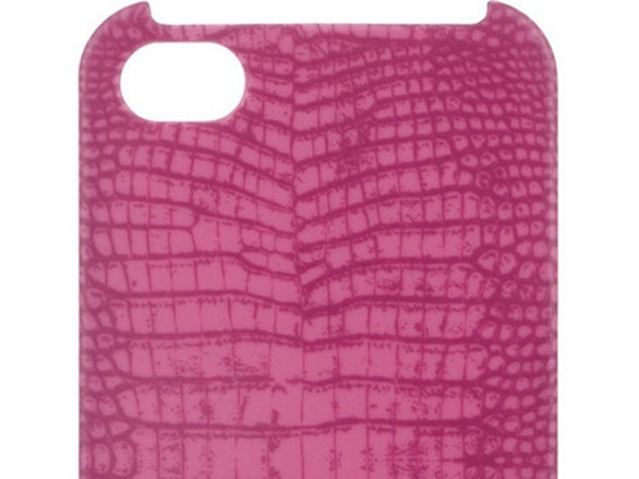 Lizard-print iPhone 4G case di Marc by Marc Jacobs