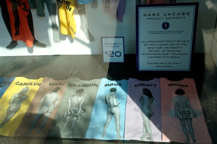 marc jacobs cancer awarness collection