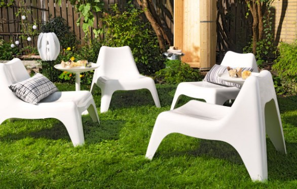 le collezioni di mobili per giardino di ikea. Black Bedroom Furniture Sets. Home Design Ideas