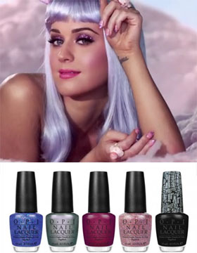 La linea di smalti di Katy Perry by Opi