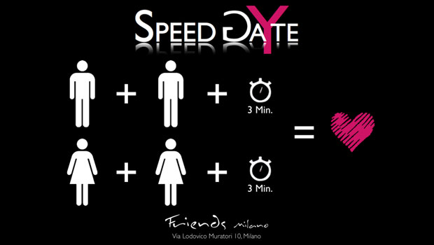 A Milano nasce Speed Gayte, lo speed date gay e lesbo