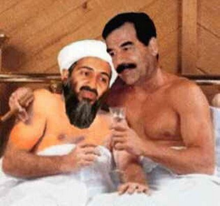 La Cia voleva far passare Saddam Hussein e Osama Bin Laden per gay con alcuni video