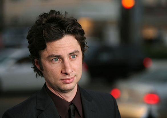 Zach Braff è gay.  Anzi no