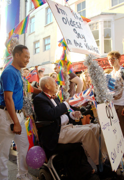George Montague, The Oldest Gay in the Village