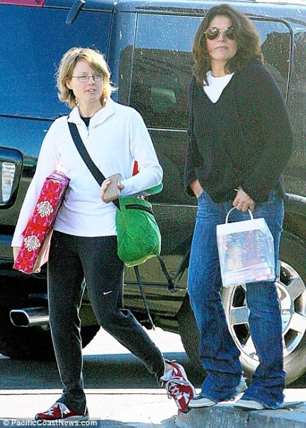 Jodie Foster e Cindy Mort