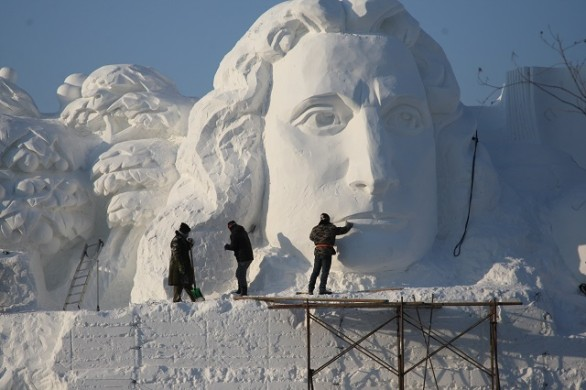 2014 Harbin Sun Island International Snow Sculpture Art Expo