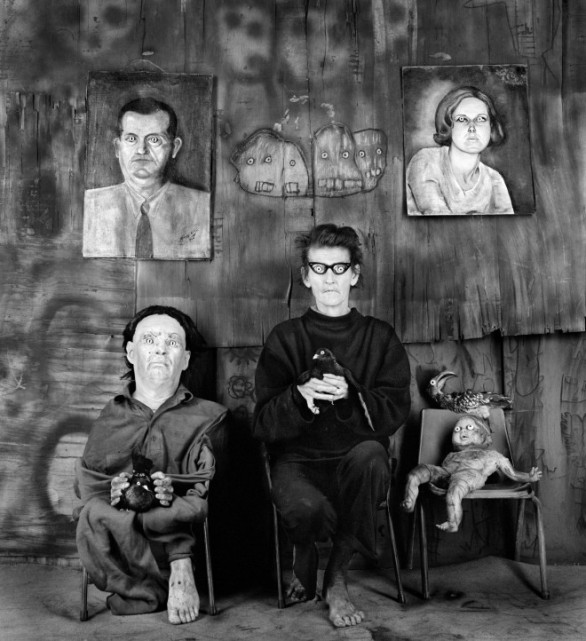 Roger Ballen, Place of the Eyeballs, 2012
