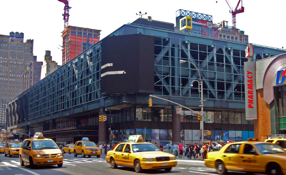 Port Authority Bus Terminal a New York