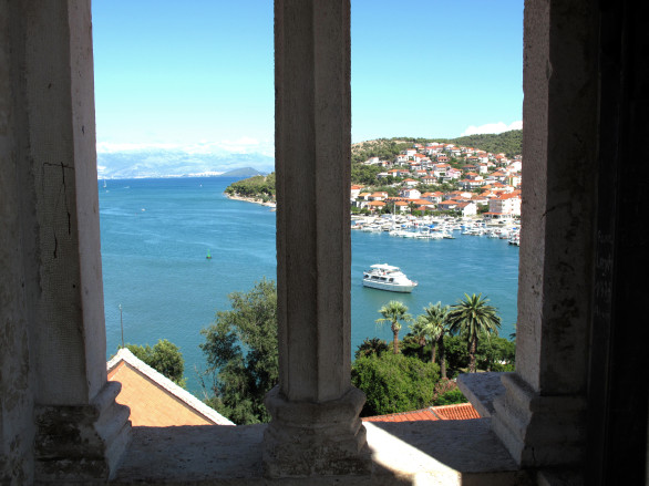 View From The Bell Ttower, Cathedral of Trogir