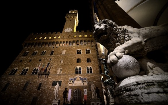 ITALY-FLORENCE-TUSCANY-TOWN HALL