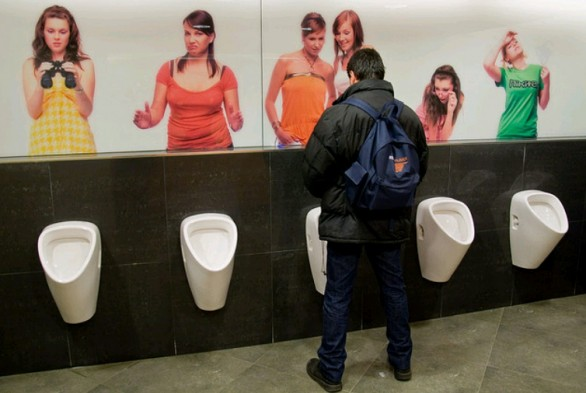 toilette del palladium shopping centre di Praga