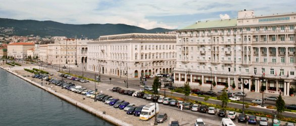 Savoia Excelsior a Trieste