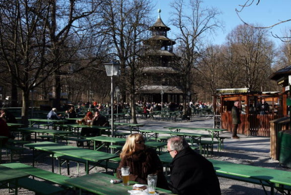Germany Enjoys Unusually High Temperatures For February