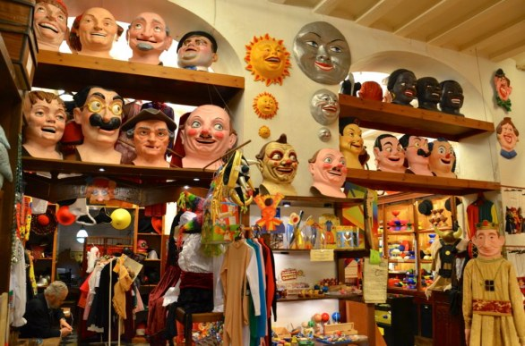 Shopping a Barcellona a Carnevale