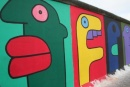 East Side Gallery, facce