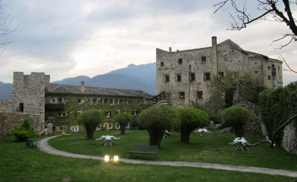 Il castello di Pergine Valsugana (travelblog.it)
