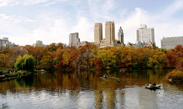 Central Park a New York in autunno