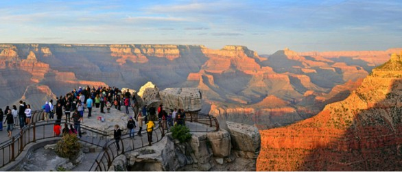 Mather Point sul Grand Canyon