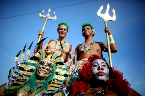 Sea Creatures Come Out For Coney Island's Mermaid Parade