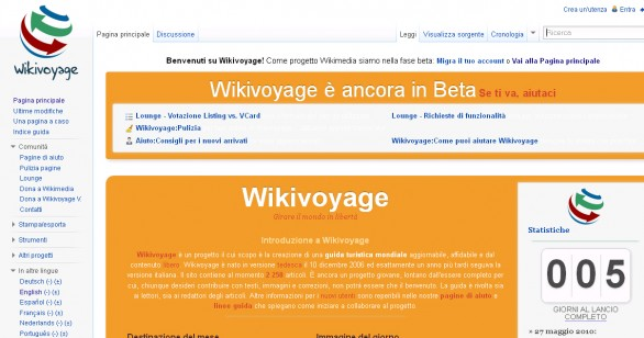 wikivoyage home page