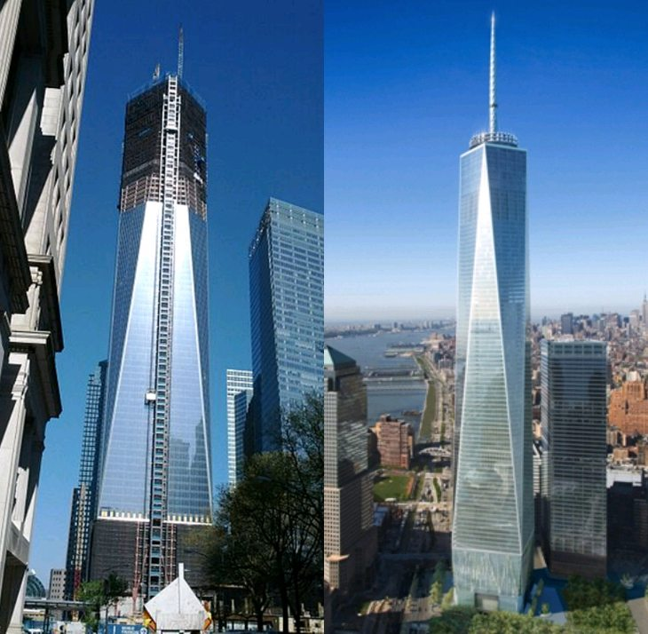 La freedom tower di nyc supera l 39 empire state bulding for Grattacielo piu alto di italia