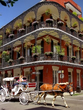 French Quarter a New Orleans