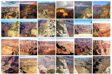 reportage fotografico grand canyon