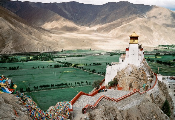Un castello in Tibet
