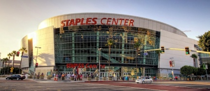 Lo Staples Center di Los Angeles