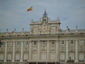Palazzo reale a Madrid