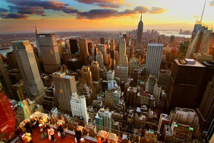 Manhattan vista dall'alto