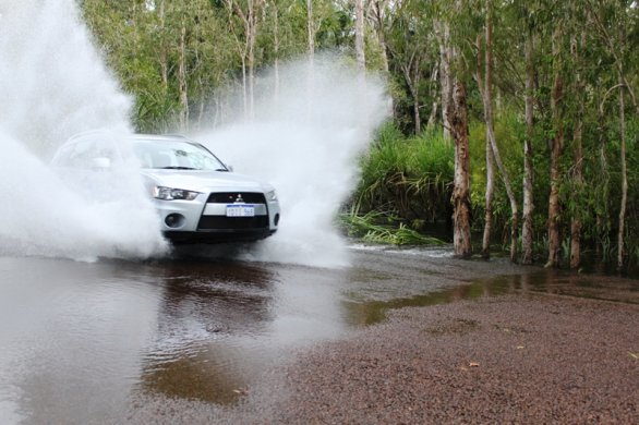 Running on the outback