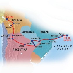 Overland Expeditions in Sud America