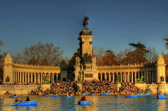 Retiro a Madrid