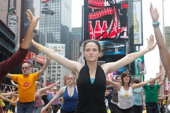 Solstice in Times Square 2009