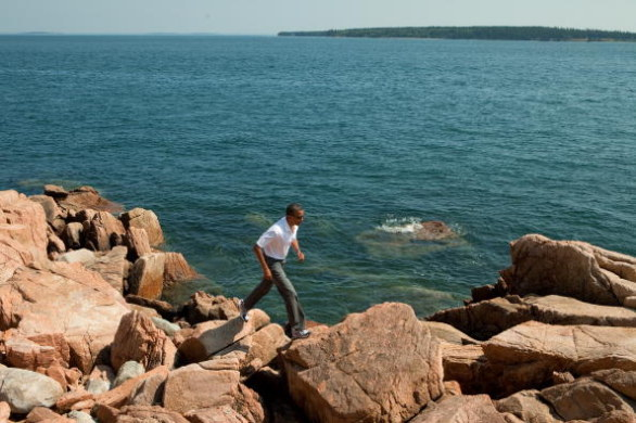 Acadia National Park e Barack Obama