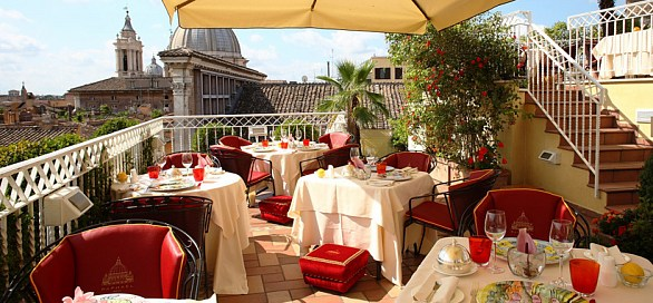 Beautiful La Terrazza Ristorante Roma Pictures - Home Design ...