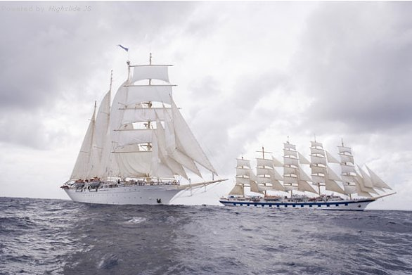 I velieri Star Clippers