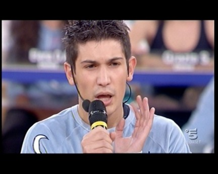 Pierdavide Carone - Amici 9
