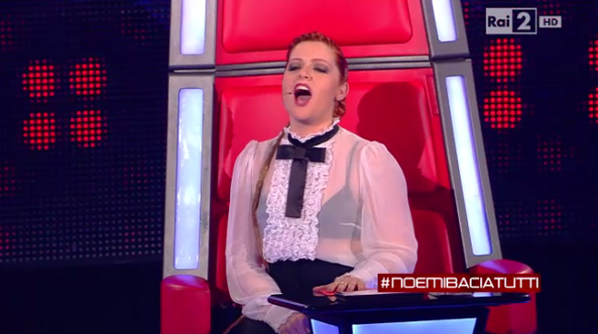The Voice Noemi