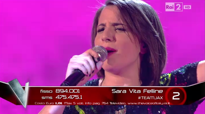 The Voice Sara Vita Felline