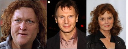 Dot Jones Liam Neeson Susan Sarandon