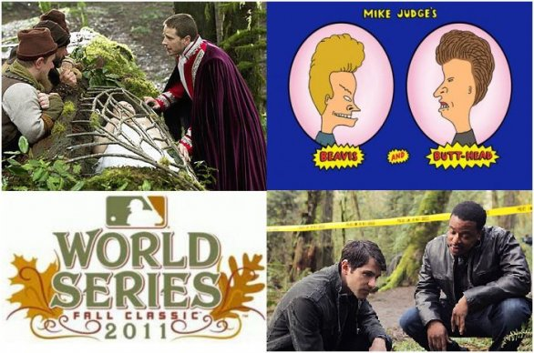 Once upon a time Beavis & Butthead Wordl Series Grimm