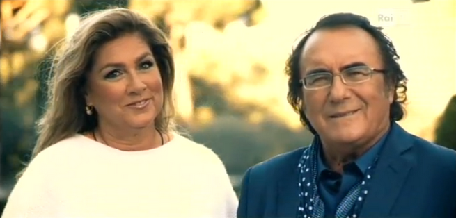 Cos lontani cos vicini rai1 al bano e romina power for Al bano e romina power