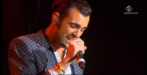 Marco Mengoni ai Wind Music Awards 2011